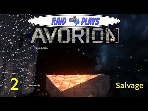 "Avorion - Ep.2 - ""Salvage [REUPLOAD]"" - Let's Play Avorion with RaidzeroAU"