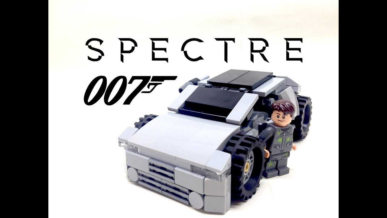 lego james bond: spectre aston martin db10 moc (#29) - youtube