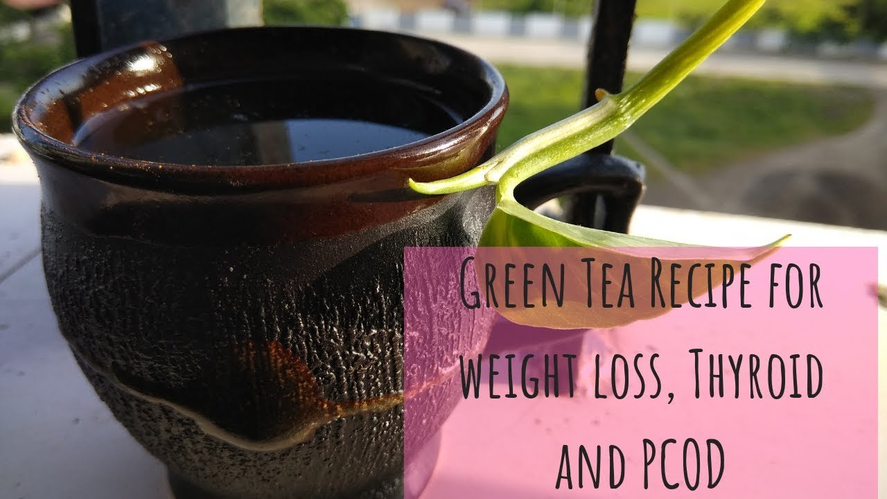 Green Tea for weight loss, Thyroid and PCOD| important facts in Hindi with  English subtitles