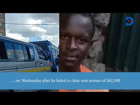 Landlord kills tenant in cold blood Over Ksh 2,500 rent arrears In Kawangware