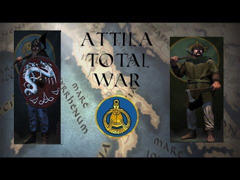 Attila Total War | Online Battle