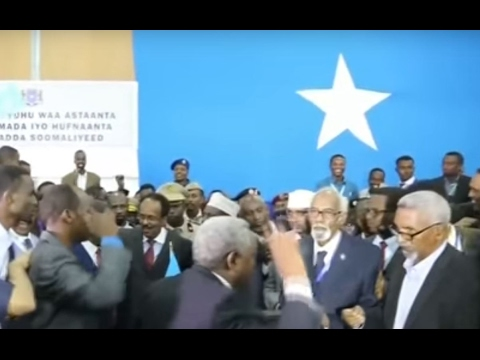 Somalia's new president is an American citizen