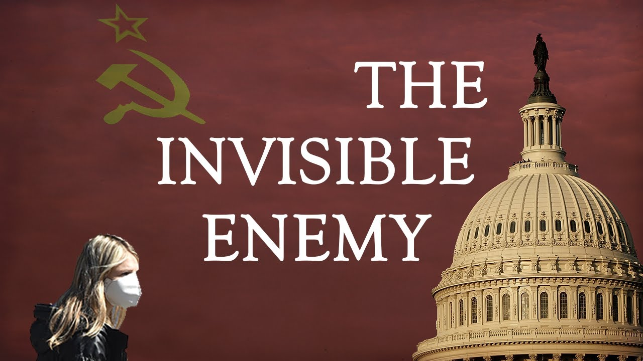 "TRUMP & FIGHTING A WAR: ""Invisible Enemy"" isn't just coronavirus...but SOCIALISM,"