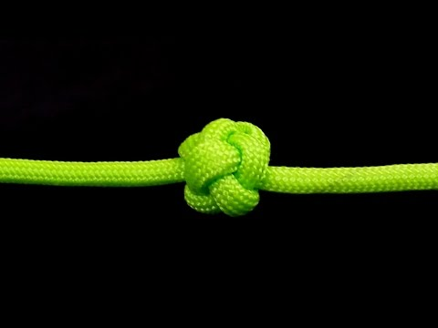 How to make Celtic Button knot