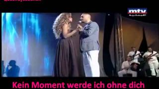 Ramy Ayach ft Maya Diab * El Shams Bteshro2 * 2011 with german subtitle