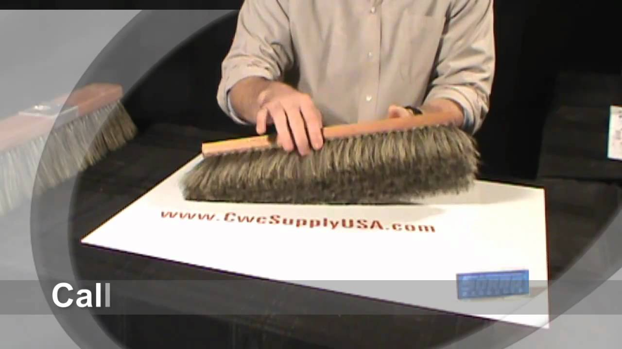 hogs hair window brush youtube