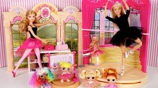 Bebe LOL Goldie en Su Primera Clase de Ballet - Familia LOL Rutina de Noche