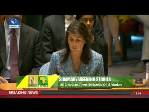 UN Imposes Arms Embargo On South Sudan Network Africa