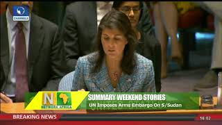 UN Imposes Arms Embargo On South Sudan |Network Africa|