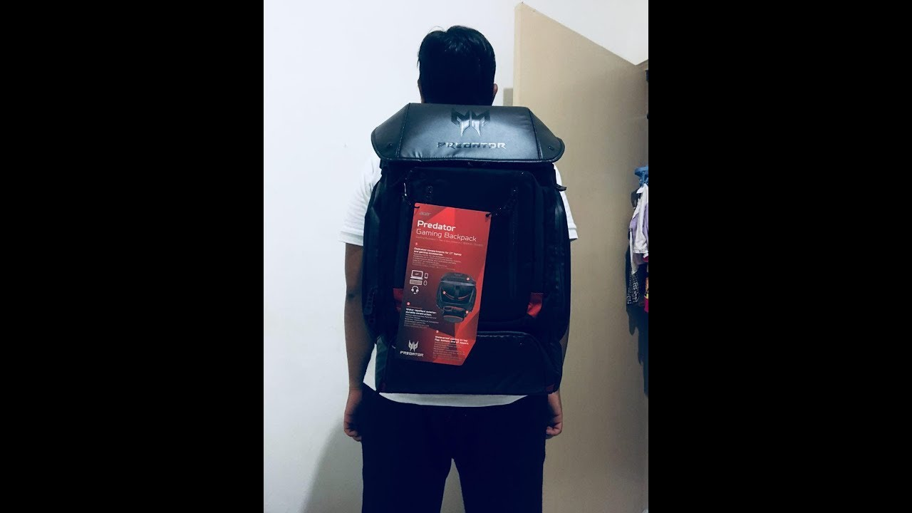 7397dd853b816 Best Gaming Backpack 2018   Acer Predator Gaming Backpack Unboxing and  Review Malaysia