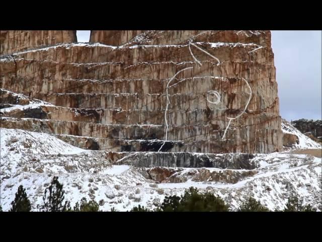 Crazy Horse Memorial Blast March 18, 2014