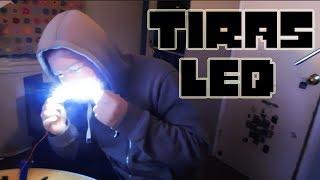 Como hacer tiras de luz led  (Iluminacion a tu pc y otros)