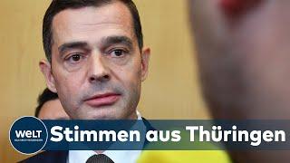 WELT INTERVIEW: Reaktionen auf das Ergebnis der Ministerpräsidentenwahl in Thüringen