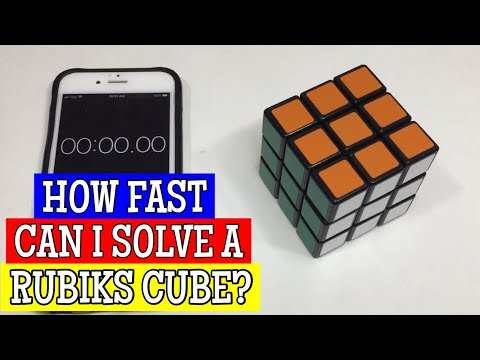 How fast can I solve a 3x3x3 Rubik's Cube? | MY aLTeR eGO