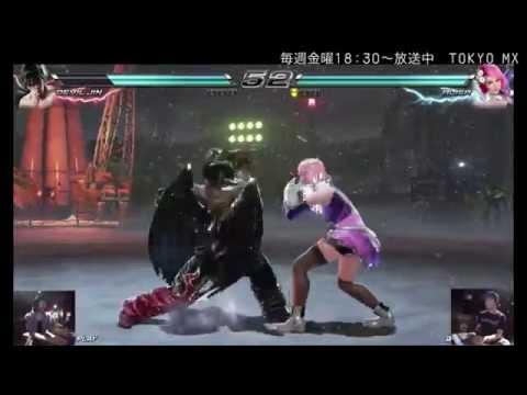 eスポーツMaX :鉄拳7 初代達人決定戦◆1回戦 第1試合・パジャマ仁 vs BE AO