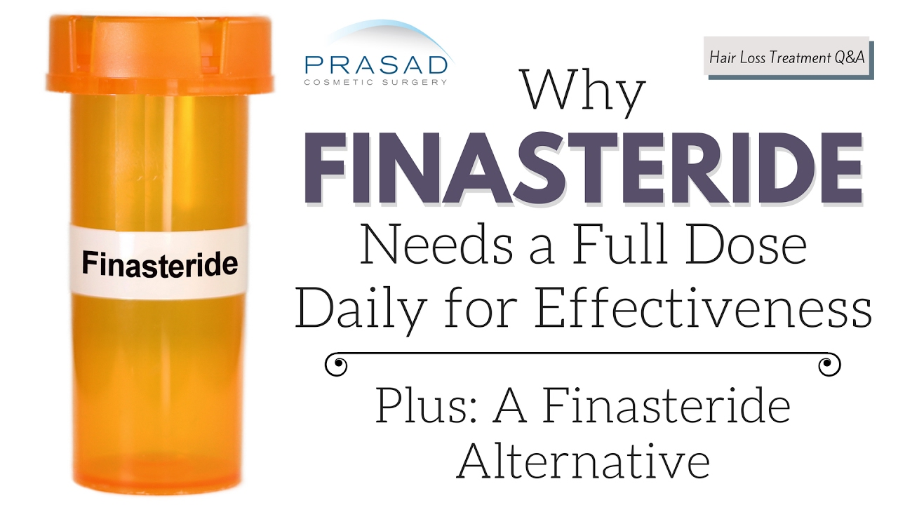 Effectiveness Of Half A Dose Of Finasteride To Treat Hair Loss Youtube