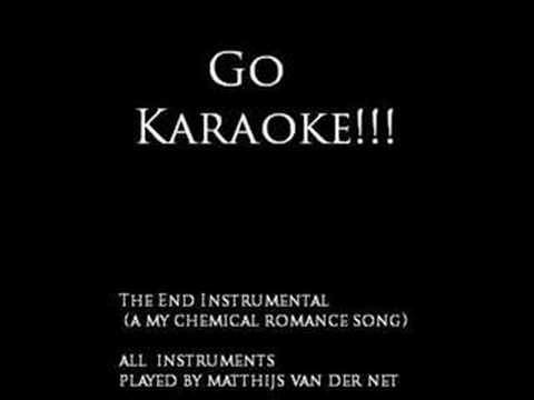 The End - Karaoke cover(NOW WITH LYRICS!!!) - My Chemical Romance