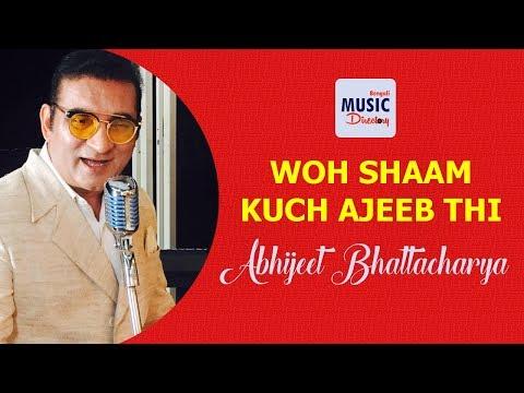 Woh Shaam Kuch Ajeeb Thi | Abhijeet Bhattacharya | Kishore Kumar | Khamoshi