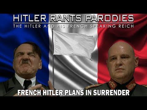 French Hitler plans to surrender