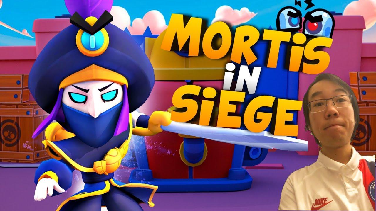 Landi Spielt Mortis in Belagerung!🤔 *extrem lustig*😂 | Brawl Stars deutsch