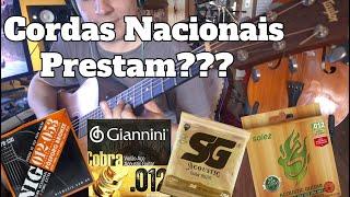 Download lagu Qual é a MELHOR CORDA NACIONAL pra Violão Aço GIANNINI, NIG, SG e SOLEZ por Fabio Lima