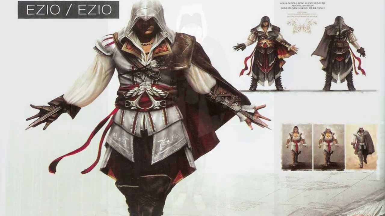 Procosplay Best Assassin S Creed Ii Ezio Auditore Da Firenze Cosplay Costume