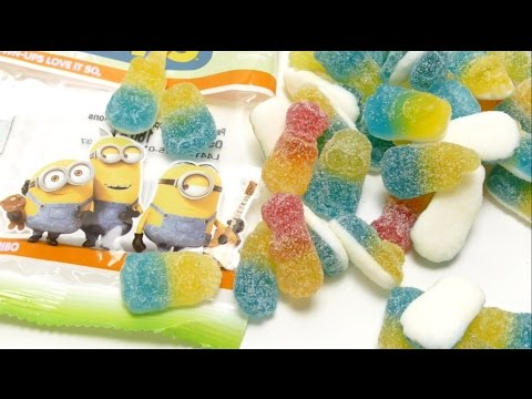 NEW Haribo Tangy Minions Candy 🍬