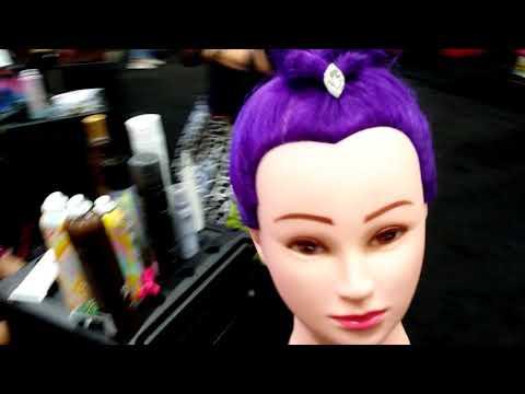 Touring the Mobile Salon at the Premier Beauty Classic Columbus Ohio 2018!😍😀😀😀💅💆💇👣💈