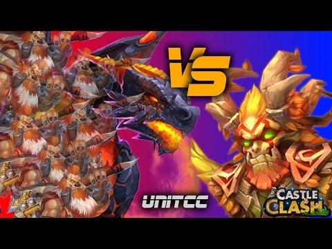 Castle Clash #145 - Beat The Bosses Challenge [720p]
