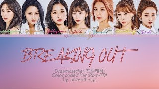 All rights administered by pony canyon • artist: dreamcatcher (드림캐쳐) song: breaking out album: the beginning of end [1st japan album] released: 19....