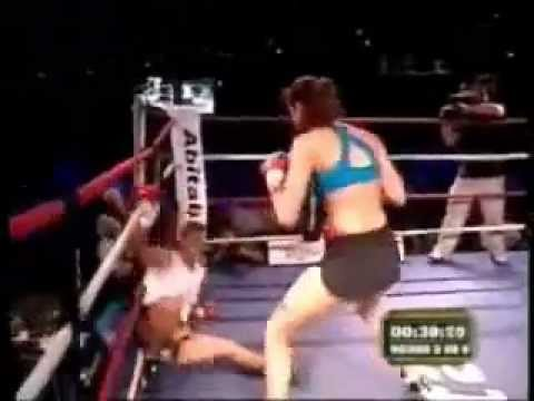 women knocking out men