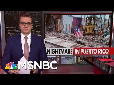 Chris Hayes On The Nightmare In Puerto Rico | All In | MSNBC