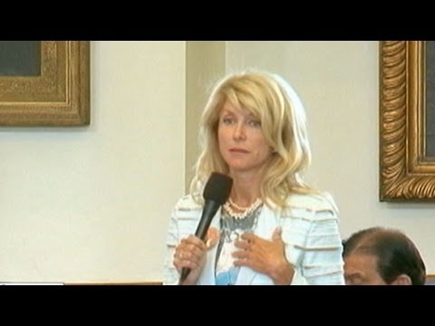 "'This Week' Sunday Spotlight: Wendy Davis on Filibuster Support: ""I Was Completely Blown Away"""