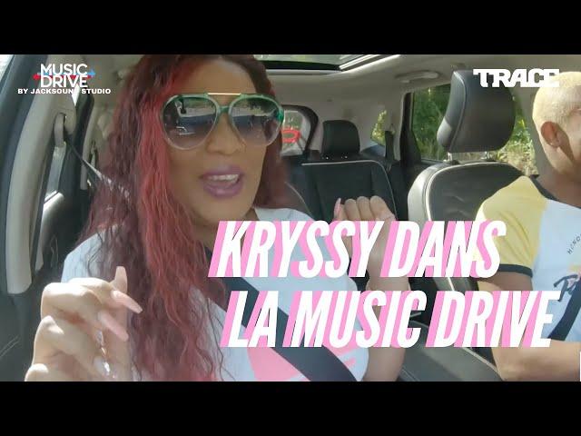 KRYSSY dans la MUSIC DRIVE