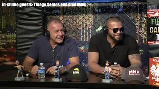 MMA Junkie Radio #2,949: Daniel Cormier and Thiago Santos