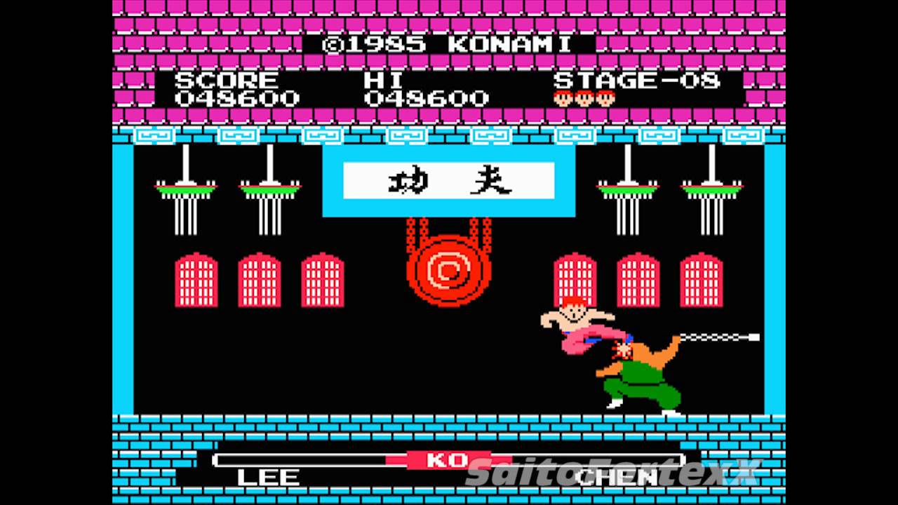 Gaming gameplay footage 3 yie ar kung fu famicom nes youtube