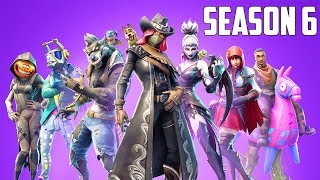 FORTNITE SEASON 6 GAMEPLAY! New Pets, Skins & Locations!! (Fortnite Season 6 Battle Pass)