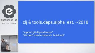 Deps and CLI with Clojure and Boot - Singapore Clojure Meetup