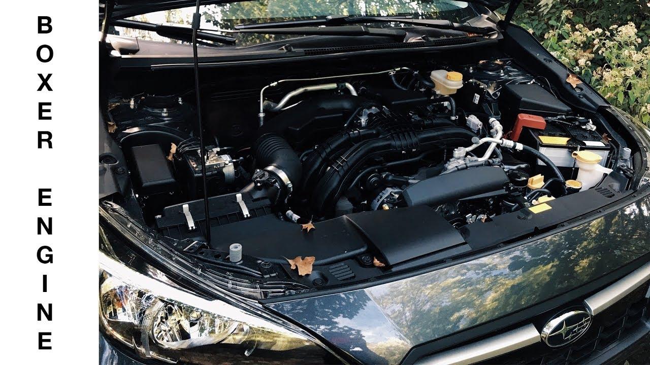 2018 Subaru Crosstrek Boxer Engine