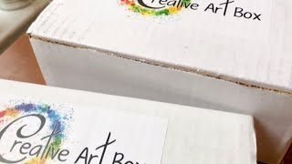DOUBLE Creative ArtBox Unboxing and Review!