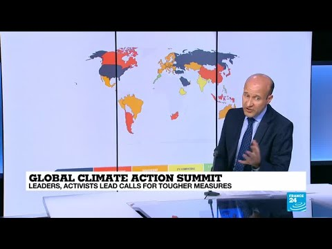 """Global Climate Action Summit: """"most of the planet is failing when it comes to climate change"""""""