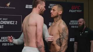 UFC Rio Rancho: Weigh-in Faceoffs