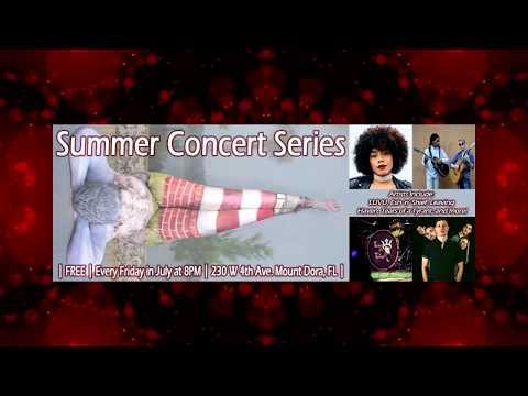 "MOUNT DORA, FL events! JULY 2018  ""Around the Lake"""