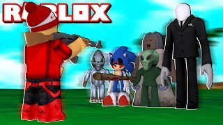 BATTLE of MONSTERS in ROBLOX * Save yourself who can * → Monster Battle 🎮