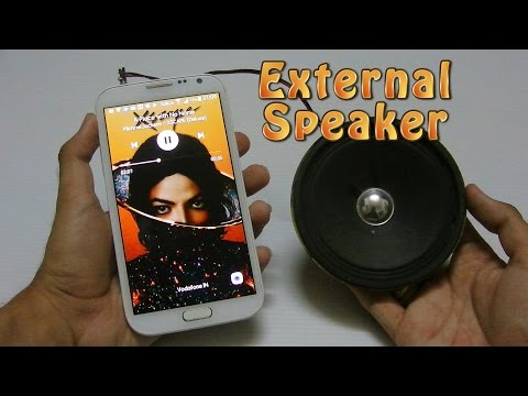 How to make a Speaker at Home for Mobile or Laptop