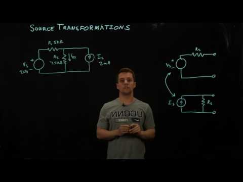 Circuits 1 - Source Transformations - Intro