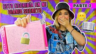 LEYENDO MI DIARIO SECRETO - *parte 2* LES OCULTÉ ESTO POR AÑOS - Lulu99