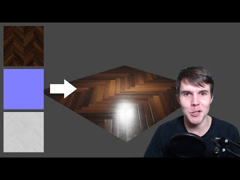 How to use PBR maps in Blender 2.79