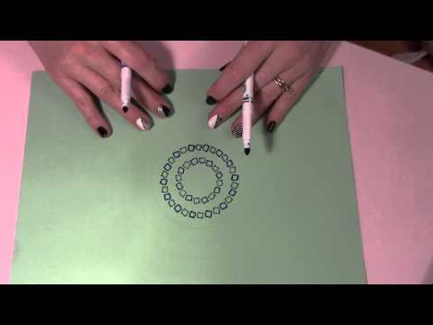 ASMR Drawing an Illusion Picture (no Talking) *Piesiame Iliuzini piesinuka*Be kalbejimo***
