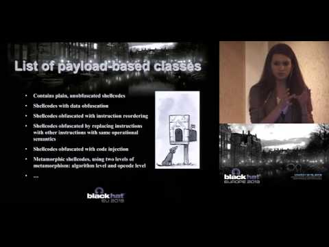 Black Hat EU 2013 - Hybrid Defense: How to Protect Yourself From Polymorphic 0-days